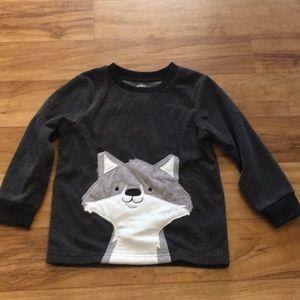 3T Fox Sweater